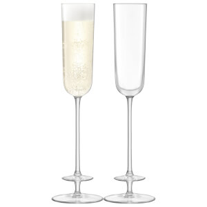 LSA Champagne Theatre Champagne Flute - 130ml (Set of 2)