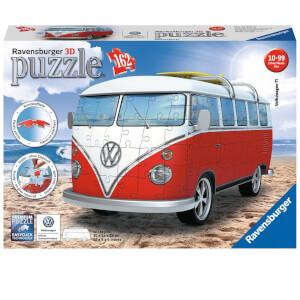 Ravensburger VW T1 Camper Van 3D Jigsaw Puzzle (162 Pieces)