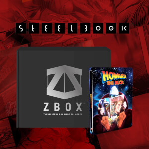 Howard The Duck Zavvi Exclusive Marvel Blu-ray SteelBook x ZBOX