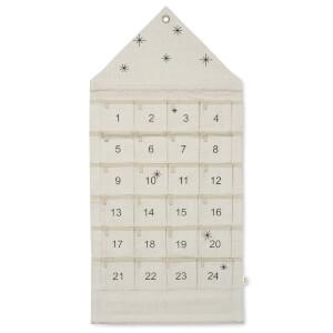 Ferm Living Star Christmas Calendar - Sand