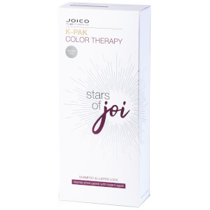 Joico Stars of Joi K-Pak Color Therapy Shampoo 300ml and Luster Lock Treatment 140ml