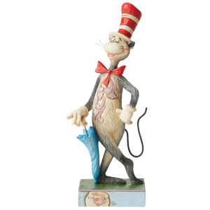 Dr Seuss by Jim Shore The Cat in the Hat with Umbrella Figurine