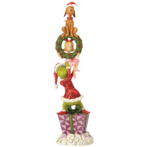 The Grinch By Jim Shore Stacked Grinch Characters Figurine