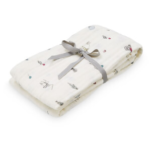 Cam Cam Light Printed Swaddle - Holiday