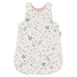 Cam Cam Doll's Sleeping Bag - Pressed Leaves Rose
