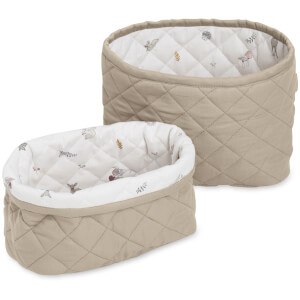 Cam Cam Quilted Storage Baskets - Hazel (Set of 2)