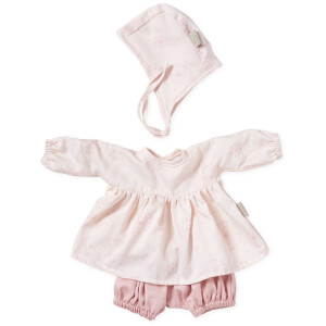 Cam Cam Doll's Clothing Set and Bonnet - Dandelion Rose