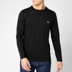 Lacoste Men's Long Sleeve T-Shirt - Black