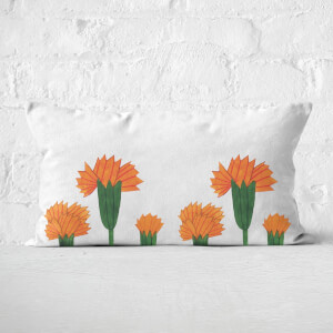 Flowers Rectangular Cushion