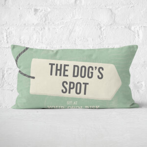 The Dog's Spot Rectangular Cushion