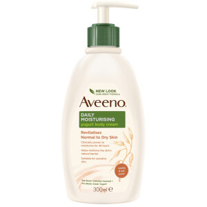 Aveeno Daily Moisturising Yogurt Body Cream Vanilla & Oat Scent 300ml