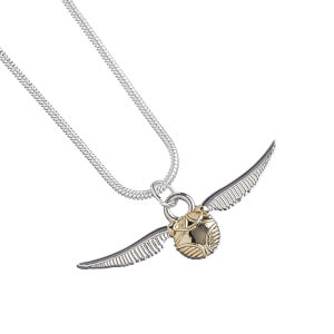 Harry Potter Golden Snitch Necklace from I Want One Of Those