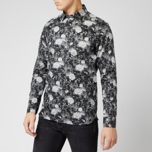 Ted Baker Men's Stylo Floral Shirt - Black