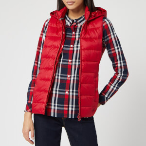 Barbour Women's Landmass Gilet - Brick Red