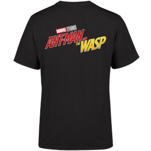 Marvel 10 Year Anniversary Ant-Man And The Wasp Men's T-Shirt - Black