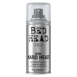 TIGI Bed Head Mini Hard Head Hairspray for Long Lasting Strong Hold 100ml