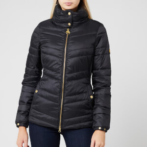 Barbour International Women's Rally Quilted Jacket - Black