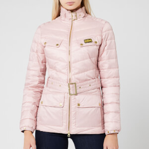 Barbour International Women's Gleann Quilted Jacket - Blusher