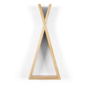 Snüz Teepee Shaped Nursery Shelf - Natural - Medium