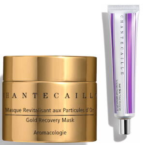 Chantecaille Alabaster X Gold Recovery Mask Duo