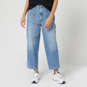 Tommy Jeans Women's Cargo Pant Jeans - Light Blue Rig