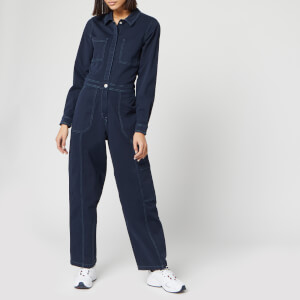 Tommy Jeans Women's Regular Jumpsuit - Black Iris