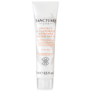 Sanctuary Spa Illuminating Moisture Mini Lotion SPF15 15ml
