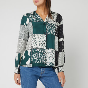 BOSS Women's Crai Shirt - Green