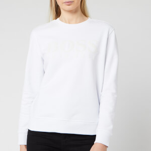 BOSS Women's Taloga Sweatshirt - White