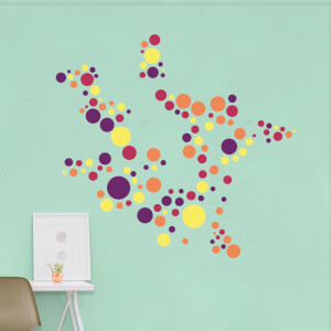 Polka Dot Pattern 1 Wall Art Sticker Pack