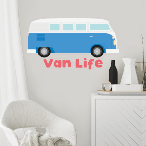 Van Life Wall Art Sticker