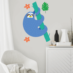Sloth Wall Art Sticker