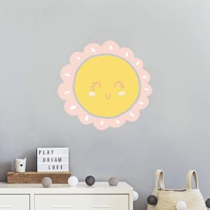 Smiling Sun Wall Art Sticker