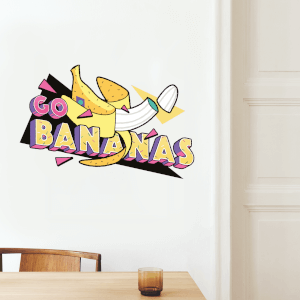 Go Bananas Wall Art Sticker