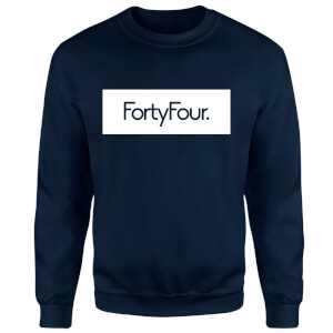 How Ridiculous Forty Four Banner Sweatshirt - Navy