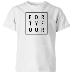 How Ridiculous Forty Four Square Kids' T-Shirt - White