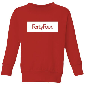 How Ridiculous Forty Four Banner Kids' Sweatshirt - Red