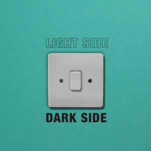 Light Side Dark Side Light Switch Art
