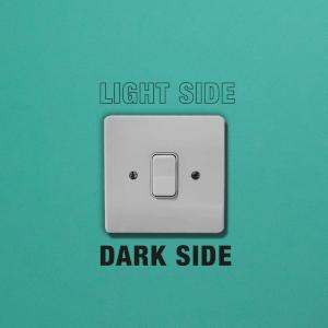 Light Side Dark Side Light Switch Art