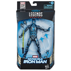 Hasbro Marvel Legends Series Invincible Iron Man 6-inch Collectible Action Figure