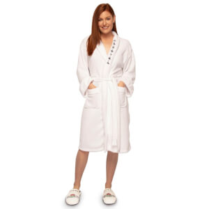 Friends Central Perk White Ladies Bathrobe