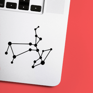Sagittarius Constellation Laptop Sticker