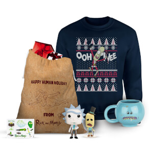 Rick and Morty Kerstmis cadeauset