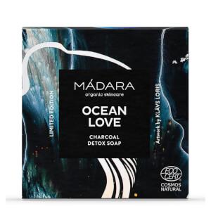 MÁDARA OCEAN LOVE Charcoal Detox Soap 90g (Worth £8.95)