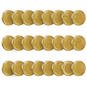 Star Wars Commemorative Collector's Coin (Set of 24) - Zavvi Exclusive