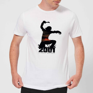 2001: A Space Odyssey Ape Logo Men's T-Shirt - White