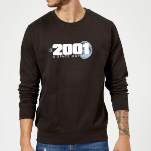 2001: A Space Odyssey Space Logo Sweatshirt - Black