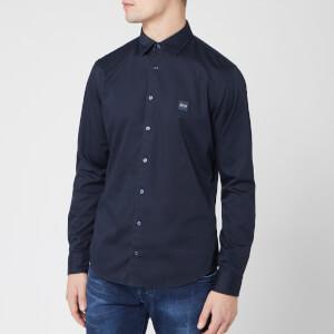 BOSS Men's Mypop Shirt - Navy