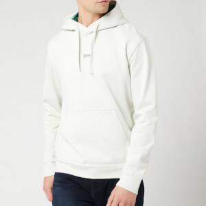 BOSS Men's Wfree Hoodie - White