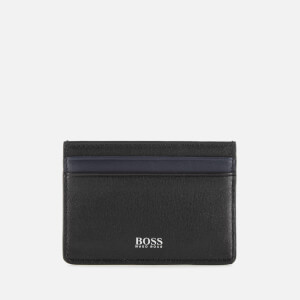 BOSS Hugo Boss Men's Card Holder and Money Clip Gift Set - Black
